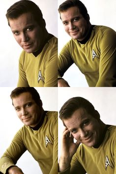 William Shatner as James T. Kirk. They don't make 'em like they used to...