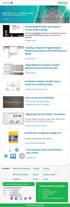News for MatLab and Stimulink Community.  #NetInfo #Learning #Academic #Programming #Analytics #Processing #Education #Student #School