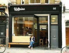 Kaffeine, 66 Great Titchfield Street. Lovely staff, great coffee, fabulous banana bread!