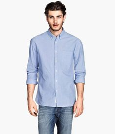 Josh Hartnett- Relaxed summer look. Poplin Shirt