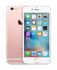 Móvil – Apple iPhone 6S de 16GB con red 4G, pantalla retina HD de 4,7  y cámara 12 mp, rosa