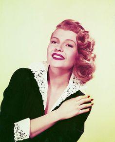 Rita Hayworth, early 50's.