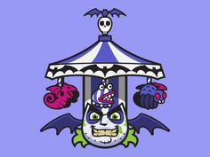 Beetlejuice by Alex Yunak on Dribbble Beetlejuice, Projects, Anime, Art, Log Projects, Art Background, Blue Prints, Kunst, Cartoon Movies