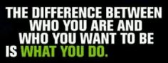 Make a DECISION....then ACT!