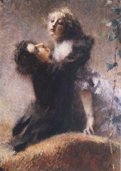 Tranquillo Cremona, L'edera (1878)