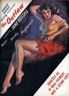 Carteles del cinema: 1943 - EL FORAJIDO - The Outlaw