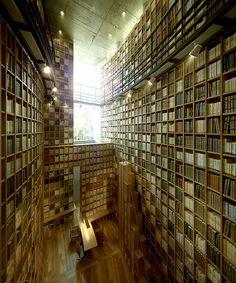 Tadao Ando. Biblioteca conmemorativa del Museo Shiba Ryotaro.