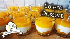 Solero Summer Dessert - Rezept von Vany s Kitchen - Rezepte Thermomix - Desserts In A Glass, Small Desserts, Easy Desserts, Desserts Thermomix, Tiramisu Dessert, Dessert Glasses, Summer Dessert Recipes, Toffee, Panna Cotta