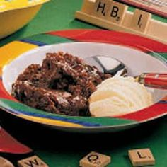 Chocolate Cobbler Recipe--looks similar to Warm Chocolate Melting Cake from Carnival Cruises