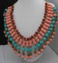 Vintage Egyptian Revival Collar necklace $102