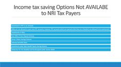Nri Saving And Investment Tips Opening An Nre Fixed Deposit