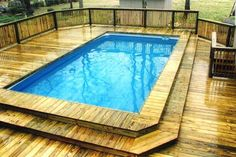 above the ground pool landscaping pictures
