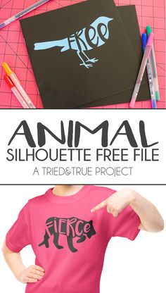 Animal Silhouette Free File - A Tried & True Project