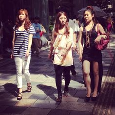 Aoyama fashion trends summer 2012