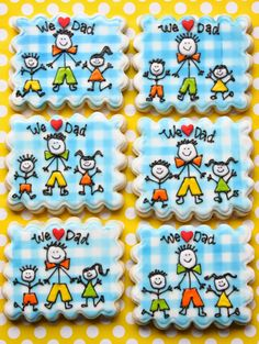 Munchkin Munchies: Stick Figure Dad Cookies for Father's Day