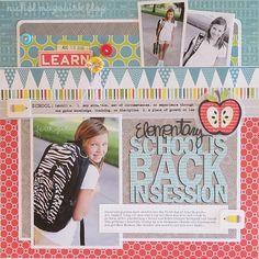 #papercraft #scrapbook #layout Scrapbooking Ideas by kyotokitty