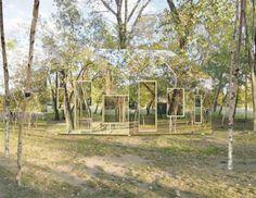 mirror buildings invisible barn 1