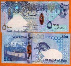 QATAR 500 riyals 2008