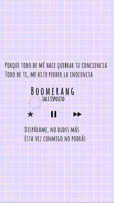 Lockscreen Boomerang - Lali