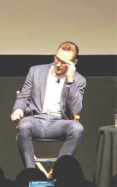 Just Tom Hiddleston — (x)