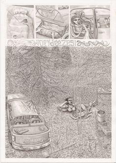 Nuvish Mircovich's original drawing - the Contemporary Drawing