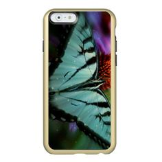 iPhone 6 Feather® Shine, Gold/Butterfly