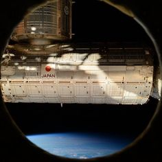 Moved our closet (PMM) to this port on Node 3. Likely last picture ever to be taken from this window. #YearInSpace #iss #window #space #spacestation