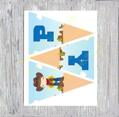 Cute Cowboy/girl Birthday Banner by SimplyAdorableStudio on Etsy