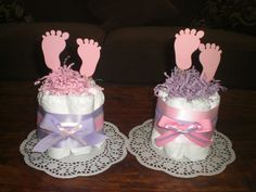 baby feet diaper cake baby shower by bearbottomdiapercakes on etsy baby shower decorations diaper cakes Baby Shower Diapers, Baby Shower Fun, Baby Shower Gender Reveal, Baby Shower Cakes, Baby Boy Shower, Baby Shower Gifts, Baby Showers, Baby Gifts, Girl Baby Shower Decorations