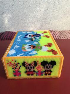 Caja de michey mouse hama beads