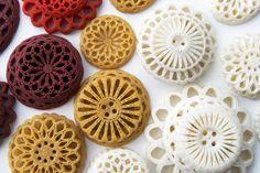 3D printed buttons by Leoni Werle & Femke Roefs www.femkeroefs.nl