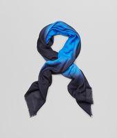 Bottega Veneta® Royal Blue Wool Scarf