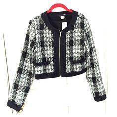 "Selling this ""Aqua tweed jacket"" in my Poshmark closet! My username is: ekosi21. #shopmycloset #poshmark #fashion #shopping #style #forsale #Aqua #Jackets & Blazers"