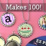 Makes 20 Photo Bottle Cap Necklaces Kit Bead Bottle, Bottle Cap Jewelry, Bottle Cap Necklace, Photo Charm Bracelet, Leather Charm Bracelets, What Are Crystals, Cute Stockings, Photo Charms, Photo Jewelry