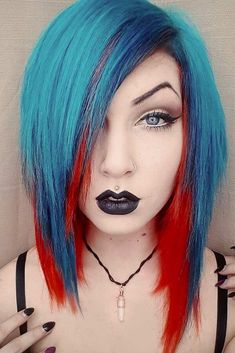Are you searching for emo hair styles that can convey your sensitive and emotional self? Would you like to learn more about emo hairstyles? Check out our photo gallery to see the brightest and coolest emo looks. #emohair #emohairstyles #haircolor #mediumhair