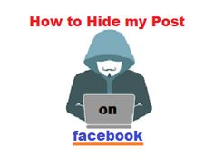 How can I make a friend on Facebook not see my posts? - Learn how to hide posts from one person on Facebook timeline? Hiding post to prevent seeing by your friend on Facebook can do in two options. Either hide it to all or hide it to selected person only. Facebook Timeline, Are You Happy, I Can, Have Fun, Posts, Learning, How To Make, Messages, Studying