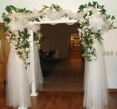 on decorating indoor wedding arches to make your indoor wedding arch