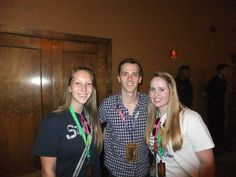 Bekah, Brian Holden, and I!