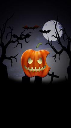 Jack o' Lantern Apple Halloween Wallpaper Iphone, Apple Logo Wallpaper Iphone, Holiday Wallpaper, Cellphone Wallpaper, Snowflake Wallpaper, Cool Wallpaper, Pattern Wallpaper, Wallpaper Backgrounds, Origin Of Halloween