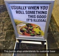 Discover the world's most advanced teledildonic interactive sex toys. Restaurant Signs Funny, Burrito Shop, Stoner Meme, Funny Adult Memes, Adult Humor, Laugh Till You Cry, Weed Memes, Josh Dun, Humor