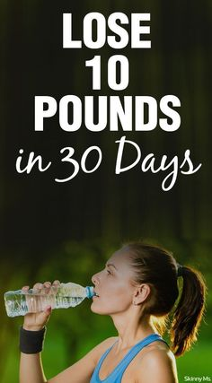 Shed up to 10 pounds in 30 days with only four lifestyle changes!