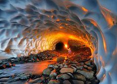 Gorgeous Photos of Russia's Secret Ice Caves - My Modern Metropolis