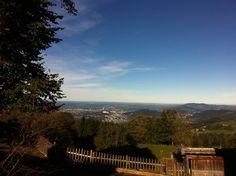 erentrudisalm -view to town salzburg Salzburg, Celestial, Mountains, Sunset, Nice, Places, Nature, Travel, Outdoor