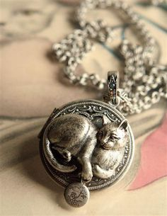 """""""My Cat's Locket"""" from Victorian Trading Co."""