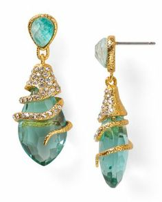 Alexis Bittar Vine Capped Dangling Post Earrings  Bloomingdale's