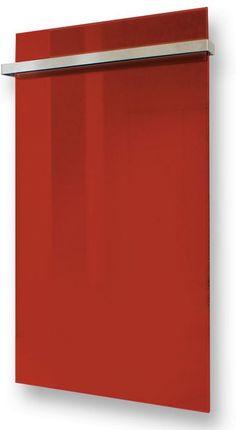G-OLD Üveg infrapanel piros törülköző szárítóval és infrafűtés
