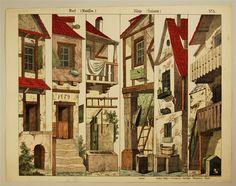 Village (scenes). Village (coulisses). No. . 5