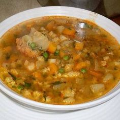 Petofi leves Croatian Recipes, Hungarian Recipes, Health Dinner, Thing 1, Soups And Stews, Soup Recipes, Healthy Living, Paleo, Food And Drink