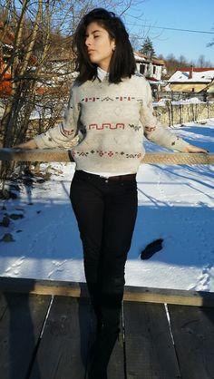 Oana I. - vintage sweater