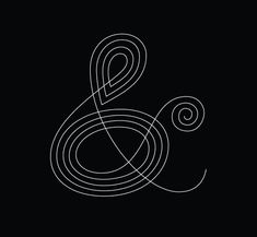 "Ampersands! Who doesn't love a good ampersand? We see them everywhere, in logos, in designs, in content, on Twitter (great for shortening), and in branding of all kind. They look cool, they're elegant, and they are perfect for every occasion. Below are beautifully designed ampersands that not only serves as an ""and per se"" symbol, but as a mesmerizing design element on its own."